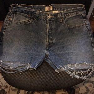 Levi's 501 Vintage Denim Shorts